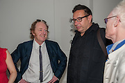 RICHARD WILSON;  Waldemar Januszczak, Yoko Ono.- to the Light. Serpentine Gallery. London. 19 June 2012.