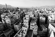 View over the city of San'a'.