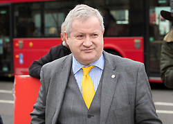 © Licensed to London News Pictures. 27/03/2019. London, UK. SNP MP Ian Blackford arrives at Parliament. MPs will hold a series of indicative votes on different Brexit options this evening. Photo credit: Peter Macdiarmid/LNP