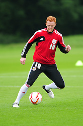 Bristol City's Ryan Taylor - Photo mandatory by-line: Dougie Allward/JMP - Tel: Mobile: 07966 386802 28/06/2013 - SPORT - FOOTBALL - Bristol -  Bristol City - Pre Season Training - Npower League One
