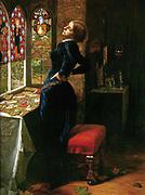 Sir John Everett Millais, 1st Baronet, PRA (8 June 1829 – 13 August 1896) Mariana in the Moated Grange 1850 - 1851