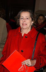 LADY HOWARD DE WALDEN at Carols from Chelsea in aid of the Institute of Cancer Research at the Royal Hospital Chapel, Chelsea, London on 1st December 2005.<br /><br />NON EXCLUSIVE - WORLD RIGHTS