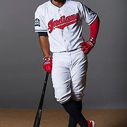 GOODYEAR, AZ - FEBRUARY 24: Cleveland Indians infielder Francisco Lindor #12 during the Cleveland Indians photo day on Feb. 24, 2017 at Goodyear Ballpark in Goodyear, Ariz. (Photo by Ric Tapia/Icon Sportswire)