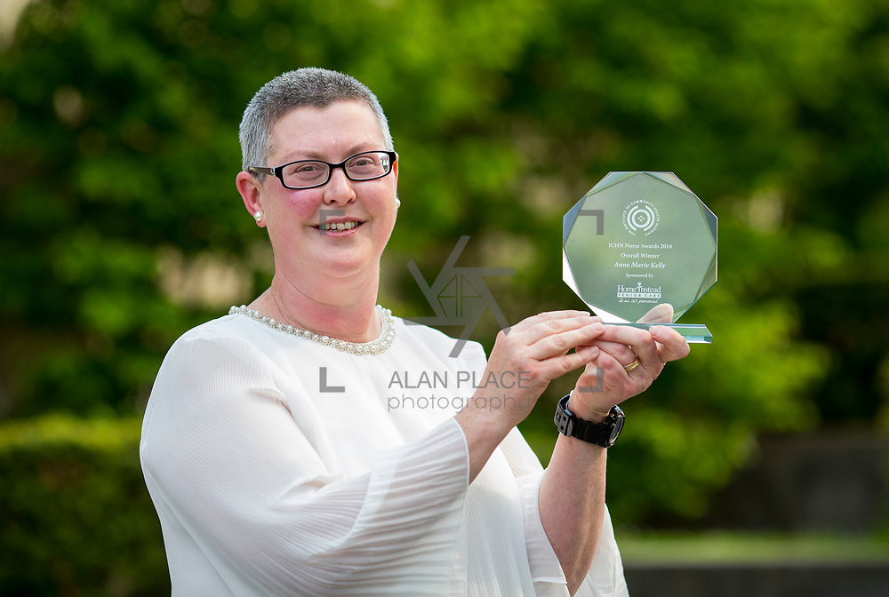 23.05.2018.       <br /> Today, the Institute of Community Health Nursing (ICHN) hosted its&nbsp;2018 community nurse&nbsp;awards in association with&nbsp;Home Instead Senior Care,&nbsp;at its annual nursing conference, in the Strand Hotel Limerick, rewarding public health nurses for their dedication to community care across the country. <br /> <br /> Pictured is Overall Winner - Anne Marie Kelly CNS Continence Promotion Unit Dr Stevens Hospital Dublin. Picture: Alan Place