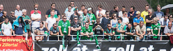 27.07.2014, Sportplatz, Fügen, AUT, FS Vorbereitung, Testspiel, SV Werder Bremen vs Atletico Bilbao, im Bild Fans // during a friendly Match between SV Werder Bremen and Atletico Bilbao at the football stadium in Fügen, Austria on 2014/07/27. EXPA Pictures © 2014, PhotoCredit: EXPA/ Jakob Gruber