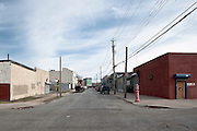 Warehouses on Commerce Street in Red Hook, Brooklyn