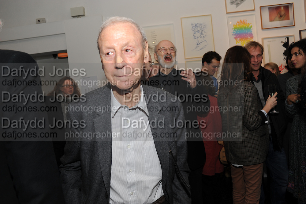 LESLIE WADDINGTON, Vanity Fair  hosted  UK Premiere and party for Beyond Time. A film about the artist William Turnbull made by his son Alex Turnbull. Narrated by Jude Law. I.C.A. London. 17 November 2011<br /> <br />  , -DO NOT ARCHIVE-© Copyright Photograph by Dafydd Jones. 248 Clapham Rd. London SW9 0PZ. Tel 0207 820 0771. www.dafjones.com.