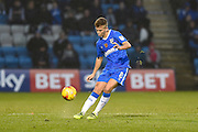 Gillingham midfielder Jake Hessenthaler (8) during the EFL Sky Bet League 1 match between Gillingham and Northampton Town at the MEMS Priestfield Stadium, Gillingham, England on 12 November 2016. Photo by Martin Cole.