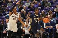 January 18, 2018 - Greenville, South Carolina - Timmons Arena: ETSU guard Bo Hodges (3)<br /> <br /> Image Credit: Dakota Hamilton/ETSU
