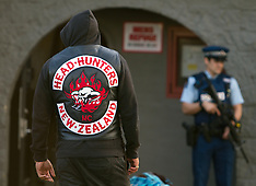 Auckland-Op Sylvester, Police raid targeting Headhunters