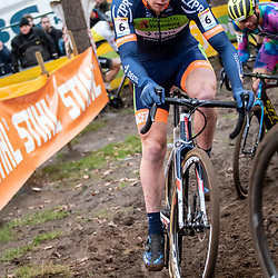 26-12-2019: Cycling: CX Worldcup: Heusden-Zolder: Stan Godrie fighting for a good position
