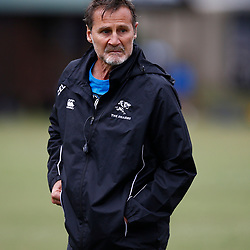 Robert du Preez (Head Coach) of the Cell C Sharks during The Cell C Sharks training session at Jonsson Kings Park Stadium in Durban, South Africa. 21 May 2019 (Mandatory Byline Steve Haag)
