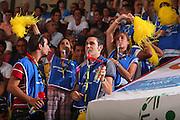 DESCRIZIONE : Cagliari Qualificazione Eurobasket 2009 Serbia Italia <br /> GIOCATORE : Tifosi <br /> SQUADRA : Nazionale Italia Uomini <br /> EVENTO : Raduno Collegiale Nazionale Maschile <br /> GARA : Serbia Italia Serbia Italy <br /> DATA : 20/08/2008 <br /> CATEGORIA : <br /> SPORT : Pallacanestro <br /> AUTORE : Agenzia Ciamillo-Castoria/S.Silvestri <br /> Galleria : Fip Nazionali 2008 <br /> Fotonotizia : Cagliari Qualificazione Eurobasket 2009 Serbia Italia <br /> Predefinita :