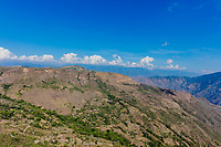 Chicamocha Canyon from Mesa de Los Santos landscapes andes mountains Santander in Colombia South America