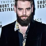 Ethan Graham attend TriForce Short Festival, on 30 November 2019, at BFI Southbank, London, UK.