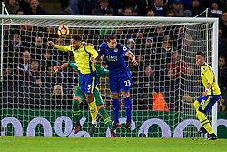 LEICESTER, ENGLAND - Boxing Day Monday, December 26, 2016: Everton's Ashley Williams in action against Leicester City during the FA Premier League match at Filbert Way. (Pic by David Rawcliffe/Propaganda)