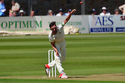 Gloucestershire Matt Taylor bowling during the LV County Championship Div 2 match between Gloucestershire County Cricket Club and Lancashire County Cricket Club at the Bristol County Ground, Bristol, United Kingdom on 7 June 2015. Photo by Alan Franklin.