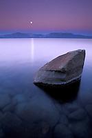 Twilight over Lake Tahoe, CA