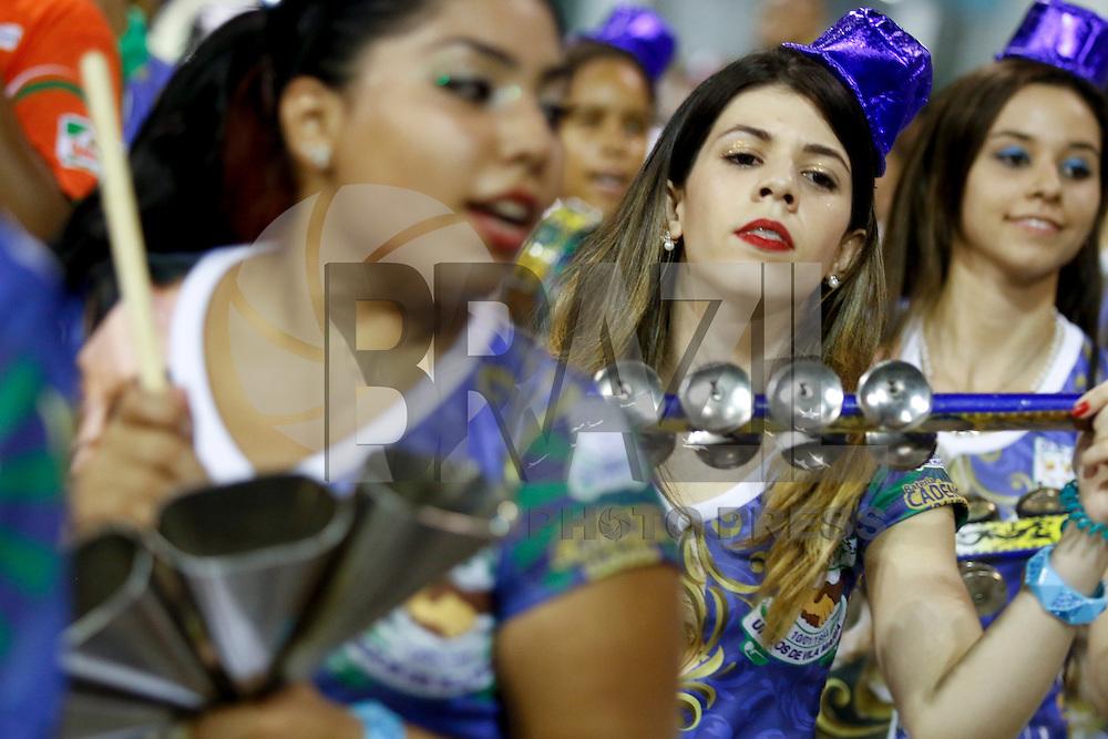 SAO PAULO 08 DE FEVEREIRO DE 2014 - ENSAIO TECNICO DAS ESCOLAS DE SAMBA - UNIDOS DE VILA MARIAE - A Escola de Samba Unidos de Vila Maria ensaiou no fim da tarde de hoje, 08, no Sambódromo, na cidade de São Paulo. foto: Paulo Fischer/Brazl Photo Press.
