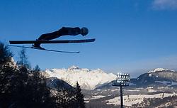 06.01.2015, Paul Ausserleitner Schanze, Bischofshofen, AUT, FIS Ski Sprung Weltcup, 63. Vierschanzentournee, Probedurchgang, im Bild Marinus Kraus (GER) // Marinus Kraus of Germany during Trial Jump of 63rd Four Hills Tournament of FIS Ski Jumping World Cup at the Paul Ausserleitner Schanze, Bischofshofen, Austria on 2015/01/06. EXPA Pictures © 2015, PhotoCredit: EXPA/ JFK