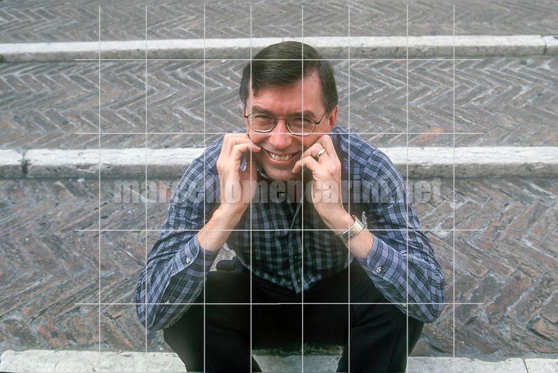 Mantua Literature Festival 1999. American physicist and writer Morris Mitchell Waldrop / Festivaletteratura di Mantova 1999. Il fisico e scrittore americano Morris Mitchell Waldrop - © Marcello Mencarini
