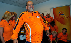 02-07-2011 VOLLEYBAL: DRAW EUROPEAN SITTING VOLLEYBALL: ROTTERDAM<br /> In Novotel Rotterdam was the draw for the European sitting volleyball held in October in Rotterdam Topsportcentrum / Medhat Nesseem <br /> ©2011-www.fotohoogendoorn.nl