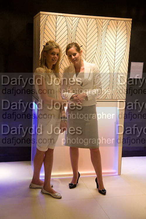 TESS SHEPHERD AND OLIVIA CAZENOVE, The Opening of the Grosvenor House Antiques Fair. Grosvenor House. Park Lane. London. 11 June 2008.  *** Local Caption *** -DO NOT ARCHIVE-© Copyright Photograph by Dafydd Jones. 248 Clapham Rd. London SW9 0PZ. Tel 0207 820 0771. www.dafjones.com.