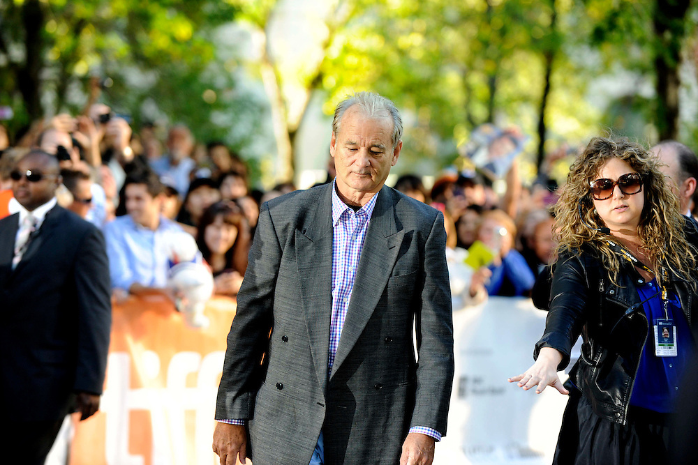 TIFF  2012  -Day5 Red Carpet -  RTH<br /> Hyde Park on the Hudson <br /> <br /> Director Roger Michell  <br /> Actors - Olivia Williams / Laura Linney / Bill Murray