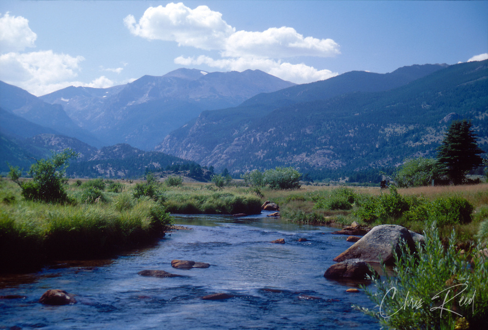 USA, Colorado, Rocky Mountain National Park.