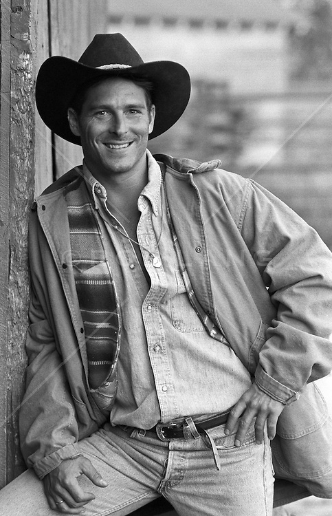 Good looking young All American Cowboy
