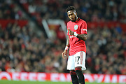 Manchester United's Fred during the EFL Cup match between Manchester United and Rochdale at Old Trafford, Manchester, England on 25 September 2019.