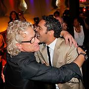 NLD/Amsterdam/20120204 - 30ste Verjaardag Richy Brown, Richy en Joost Heuckeroth