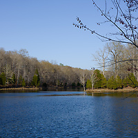 Creech Hollow Lake at Montgomery Bell State Park in Burns, Tennessee.