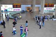 Israel, Ben-Gurion international Airport, Terminal 3, arrival's hall