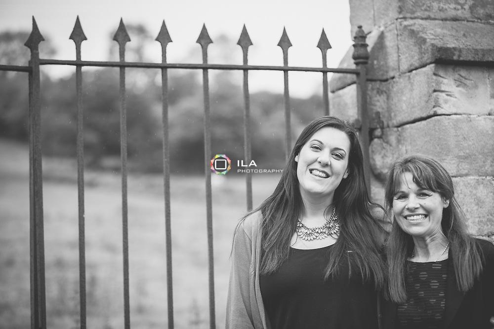 Lisa & mum at Mayfield Hall