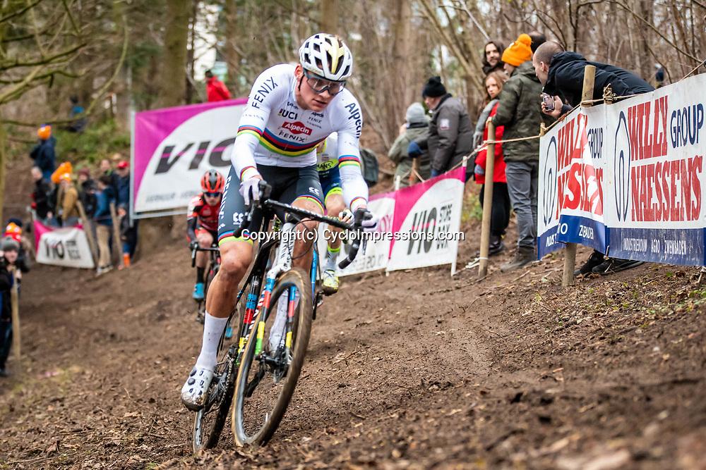 2020-01-05 Cycling: dvv verzekeringen trofee: Brussels: Mathieu van der Poel on the hunt
