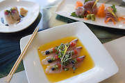 Sashimi, Hiroshi, Hiroshi's Eurasian Tapas, Honolulu, Hawaii<br />