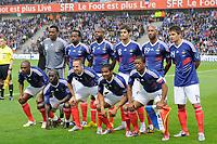 Fotball<br /> Frankrike v Costa Rica<br /> Foto: Dppi/Digitalsport<br /> NORWAY ONLY<br /> <br /> FOOTBALL - FRIENDLY GAME 2010 - FRANCE v COSTA RICA - 26/05/2010<br /> <br /> TEAM FRANCE ( BACK ROW LEFT TO RIGHT: STEVE MANDANDA / SIDNEY GOVOU / WILLIAM GALLAS / YOANN GOURCUFF / NICOLAS ANELKA / JEREMY TOULALAN. FRONT ROW: ERIC ABIDAL / BAKARY SAGNA / FRANCK RIBERY / FLORENT MALOUDA / PATRICE EVRA )<br /> Lagbilde Frankrike