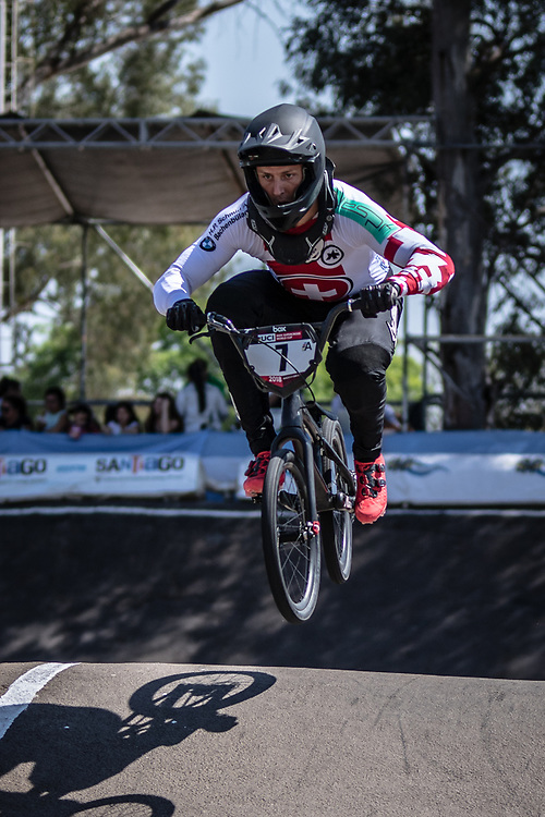 2018 UCI BMX Supercross<br /> Round 8 Santiago Del Estero (Argentina)<br /> #7 (GRAF David) SUI