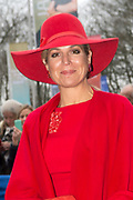 Koningin Maxima opent de Jheronimus Academy of Data Science (JADS) in het voormalig klooster Mariënburg in 's-Hertogenbosch.<br /> <br /> Queen Maxima Opens Tomorrow the Hieronymus Academy of Data Science (JADS) in the former convent Marienburg in 's-Hertogenbosch.<br /> <br /> Op de foto / On the photo: Aankomst / Arrival