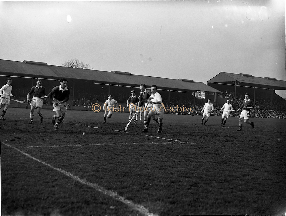 18/03/1956<br /> 03/18/1956<br /> 18 March 1956<br /> Ireland v Combined Universities at Croke Park, Dublin.