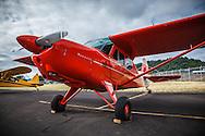 Aeronca Sedan at Wings and Wheels and Oregon Aviation Historical Society.