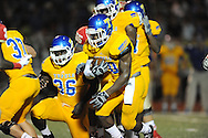 Lafayette High vs. Tupelo's Justin Clifton (10) in Oxford, Miss. on Friday, August 22, 2014. Tupelo won the season opener 20-0.