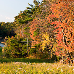 Fall on the Clark Farm in Windham, Maine,