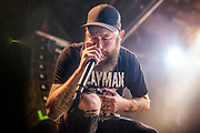 Anders Fridén during In Flames performance at The Phoenix Concert Theatre.<br /> <br /> Toronto. Canada <br /> November 2019