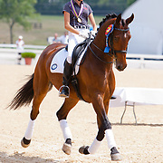 Ayden Uhlir and Sjapoer at the 2012 North American Junior and Young Rider Championships in Lexington, Kentucky.