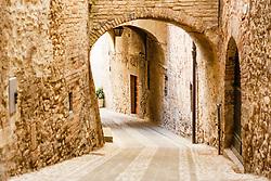 A Street in San Gemini, Umbria, Italy
