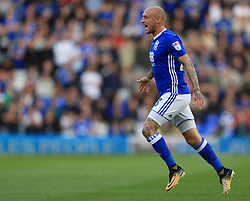 David Cotterill of Birmingham City - Mandatory by-line: Paul Roberts/JMP - 15/08/2017 - FOOTBALL - St Andrew's Stadium - Birmingham, England - Birmingham City v Bolton Wanderers - Sky Bet Championship