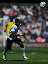 Darren Bent Derby County, Derby County v Brentford, Sy Bet Championship, IPro Stadium, Saturday 11th April 2015. Score 1-1,  (Bent 92) (Pritchard 28)<br /> Att 30,050