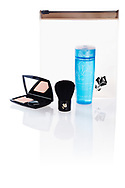 Lancome Softening Hydrating Toner with Compact powder and small powder brush